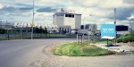 Synlait Milk Powder Factory at Dunsandel, 40kms south of Christchurch. Minolta 7s Rangefinder Camera