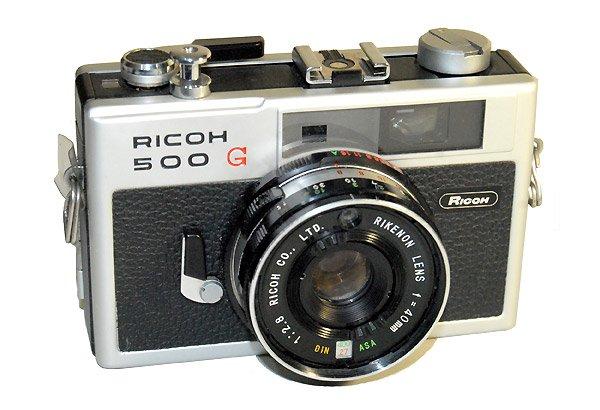 Rangefinder Cameras Com Ricoh 500g 1972 Film Camera
