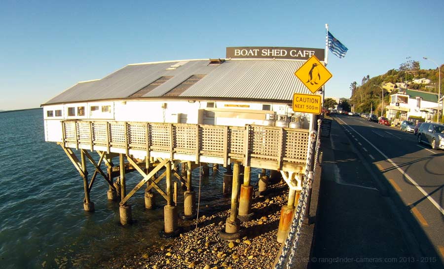 Boat Shed Cafe, Rocks Road, Nelson, New Zealand.