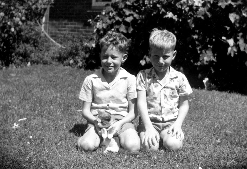 Kodak Box Brownie. Brother.