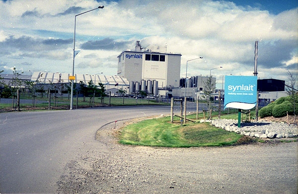 Synlait Milk Powder Factory at Dunsandel, 40kms south of Christchurch. Minolta 7s Rangefinder Camera