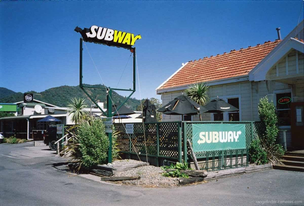 Subway at the railway station, Picton.