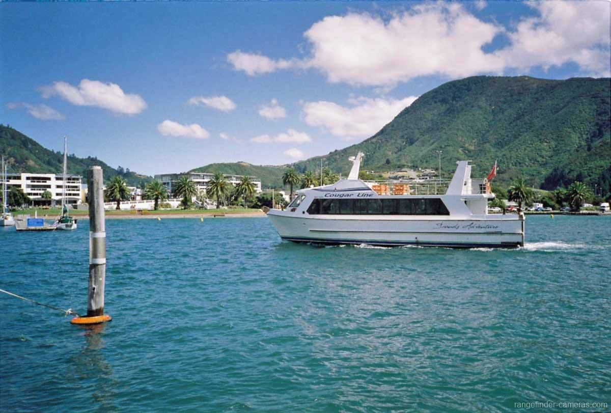 Olympus XA marina at Picton. Cougar-Line Sounds Adventure.