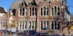 The old Christchurch Girls High. Damaged beyond repair.