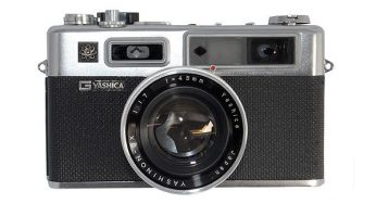 Yashica Electro 35 (from 1966) big, old-fashioned, but takes great photographs