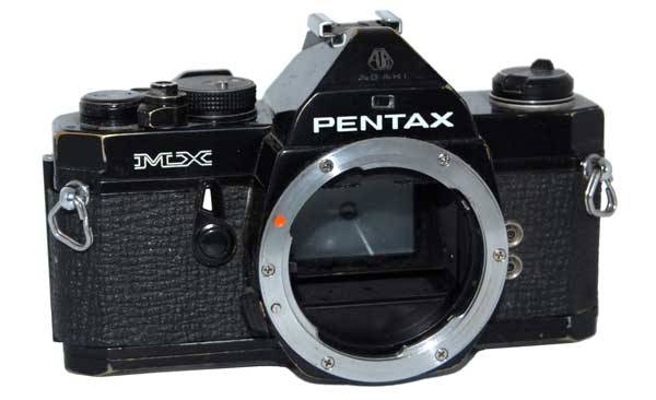 Pentax MX film SLR camera