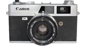 Canon Canonet QL25 (1965) Large size, heavy camera