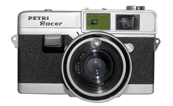 Petri Racer front view