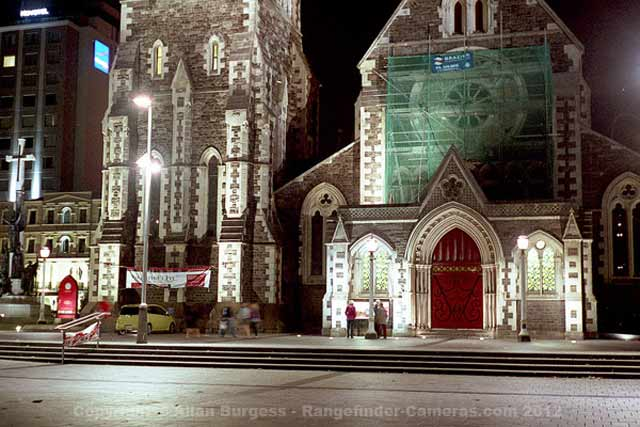 Christchurch Cathedral prior to the earthquakes.