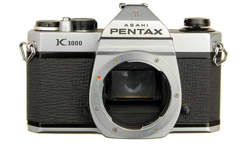 pentax k1000 manual slr popular with photography students rh rangefinder cameras com Pentax K1000 Sample Pentax K1000 Camera