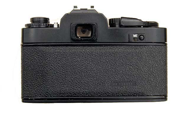 Ricoh XR-1s back view.